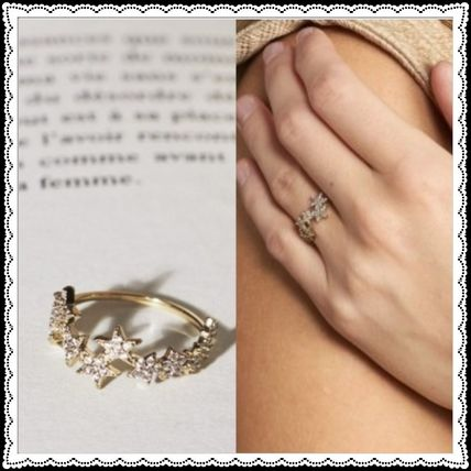 Star Casual Style Rings