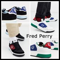 FRED PERRY Unisex Suede Street Style Sneakers