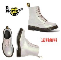 Dr Martens 1461 Platform Mountain Boots Round Toe Rubber Sole Casual Style
