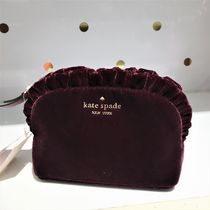 kate spade new york Plain Pouches & Cosmetic Bags