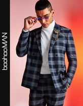 boohoo Other Plaid Patterns Street Style Blazers Jackets