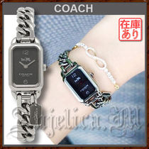Coach Casual Style Unisex Square Party Style Quartz Watches