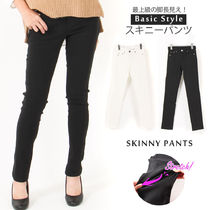Casual Style Plain Office Style Skinny Pants