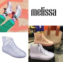 Melissa Casual Style Unisex PVC Clothing Low-Top Sneakers