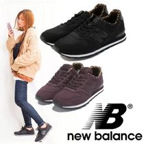 New Balance 996 Leopard Patterns Casual Style Low-Top Sneakers