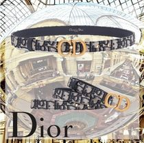 Christian Dior DIOR OBLIQUE Saddle Belt