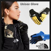 THE NORTH FACE Camouflage Unisex Bi-color Plain Touchscreen Gloves