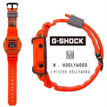 N.HOOLYWOOD Unisex Street Style Collaboration Digital Watches