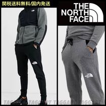 THE NORTH FACE Unisex Street Style Plain Cotton Joggers & Sweatpants