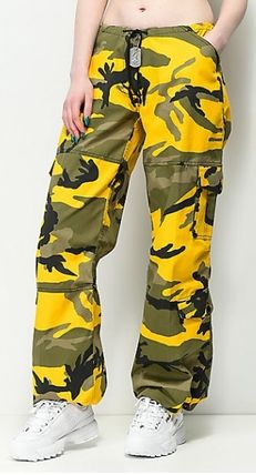 ROTHCO Camouflage Casual Style Street Style Long Military Pants
