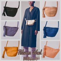 Paloma Wool Casual Style 3WAY Plain Leather Elegant Style Shoulder Bags