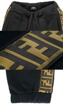 FENDI Wool Cashmere Silk Blended Fabrics Cotton Logo