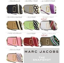 MARC JACOBS Snapshot Casual Style Unisex Plain Leather Party Style Office Style
