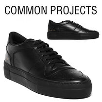 Common Projects Street Style Plain Sneakers