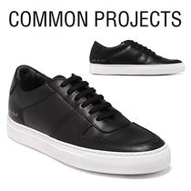 Common Projects Street Style Plain Leather Sneakers