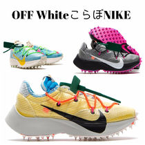Off-White Unisex Street Style Logo Low-Top Sneakers