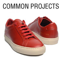 Common Projects Plain Leather Sneakers
