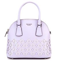 kate spade new york sylvia Flower Patterns Street Style 2WAY Plain Leather
