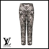 Louis Vuitton Printed Pants Casual Style Street Style Long Elegant Style