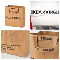 IKEA Unisex Street Style Collaboration Luggage & Travel Bags