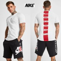Nike AIR JORDAN Unisex Blended Fabrics Street Style Plain Cotton