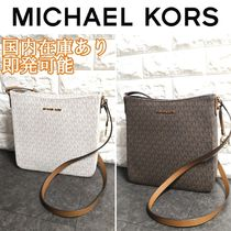 Michael Kors Casual Style Leather PVC Clothing Bags