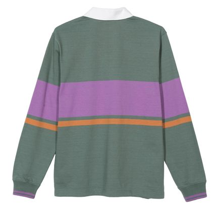STUSSY Polos Street Style Long Sleeves Polos 2