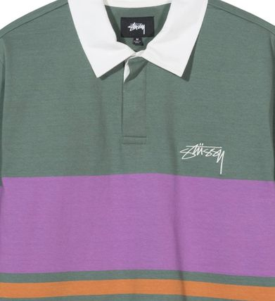 STUSSY Polos Street Style Long Sleeves Polos 3