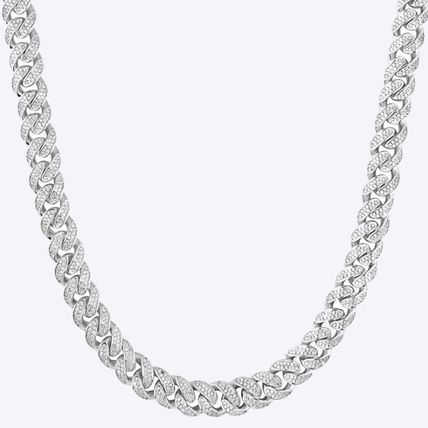Street Style Collaboration Chain Silver Logo
