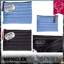 MONCLER Plain Clutches