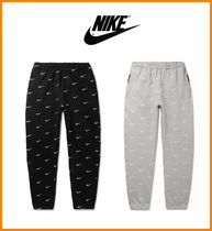 Nike Tapered Pants Sweat Street Style Cotton Tapered Pants