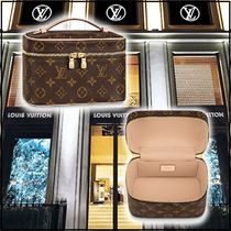 Louis Vuitton 2020 CRUISE NICE MINI brown pouches & cosmetic bags