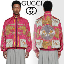GUCCI Nylon Street Style Other Animal Patterns Oversized