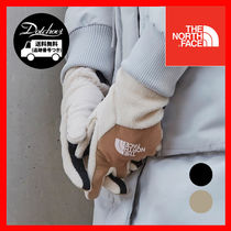 THE NORTH FACE WHITE LABEL Unisex Street Style Bi-color Plain Gloves Gloves