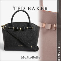 TED BAKER Casual Style Leather Office Style Totes