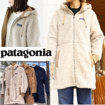Patagonia Casual Style Nylon Plain Long Outerwear