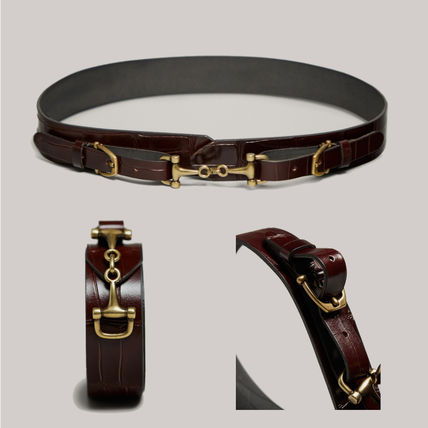 Casual Style Other Animal Patterns Leather Office Style