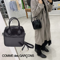 COMME des GARCONS Casual Style Plain Office Style Shoulder Bags