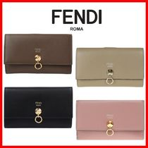 FENDI Street Style Long Wallets