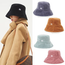 BE BORN OF Unisex Street Style Bucket Hats Wide-brimmed Hats
