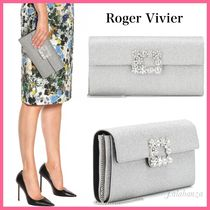 Roger Vivier Casual Style 2WAY Chain Plain Party Style With Jewels