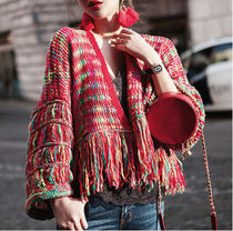 Short Lace-up Casual Style Wool Blended Fabrics Street Style