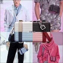 Christian Dior Unisex Street Style Collaboration Elegant Style