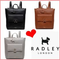 RADLEY Casual Style Plain Leather Backpacks