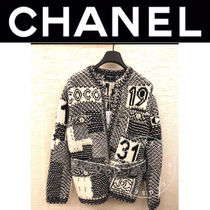 CHANEL ICON Casual Style Street Style Medium Handmade Party Style