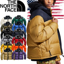 THE NORTH FACE Nuptse Short Street Style Oversized Down Jackets