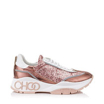 Jimmy Choo Round Toe Casual Style Blended Fabrics Street Style Bi-color