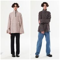 LA MER MA MAISON Other Check Patterns Street Style Long Sleeves Oversized