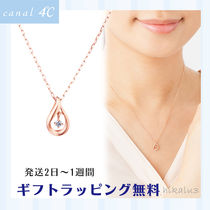 4℃ Casual Style Unisex Chain Brass Office Style Elegant Style