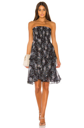 Short Sleeveless Party Style Tired Dresses